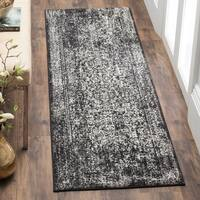 Safavieh Evoke Vintage Oriental Black/ Grey Distressed Rug - 2' 2 x 11'