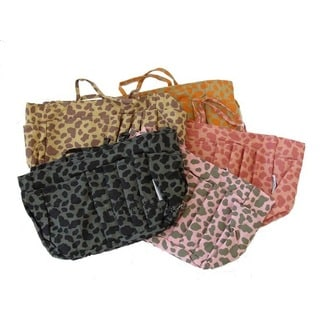 Animal-print Nylon Purse Organizer