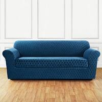 Sure Fit Grand Marrakesh 2-piece Stretch Sofa Slipcover