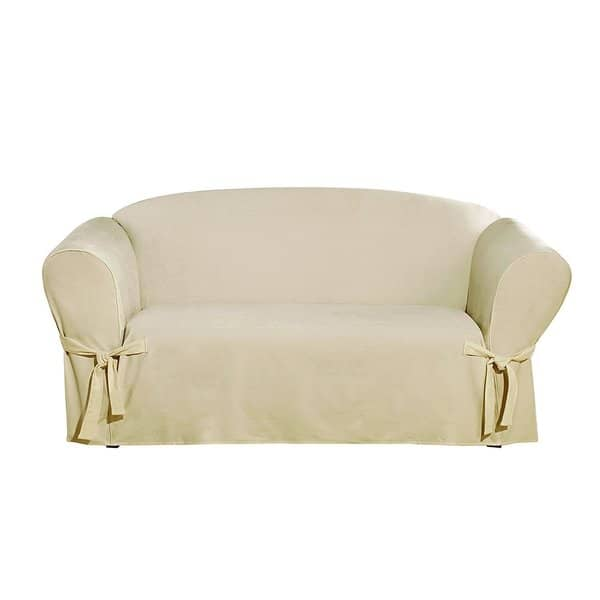 Admirable Shop Sure Fit Everyday Chenille 1 Piece Loveseat Cover On Dailytribune Chair Design For Home Dailytribuneorg