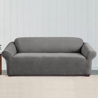 Sure Fit Stretch Corduroy Sofa Cover