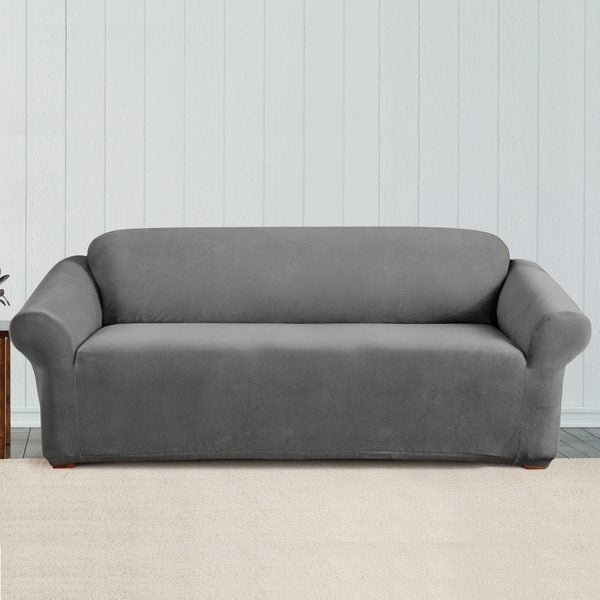 Shop Sure Fit Stretch Corduroy Sofa Cover Free Shipping Today