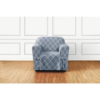 Blue Chair Covers Amp Slipcovers Shop The Best Deals For