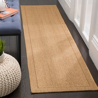 Safavieh Palm Beach Natural Fiber Maize Sisal / Jute Runner Rug (2' x 8')