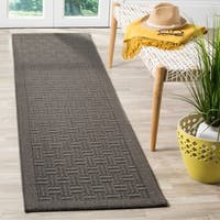 Safavieh Palm Beach Natural Fiber Ash Sisal / Jute Runner Rug - 2' x 8'