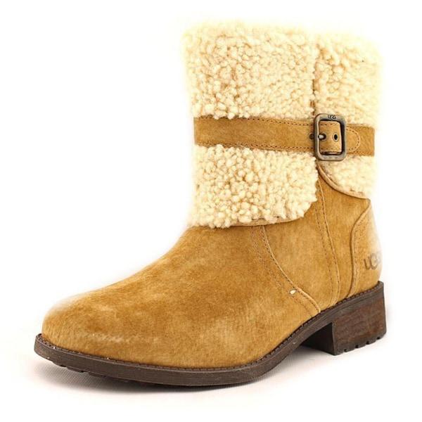 bd47e0792b7 Shop Ugg Australia Women's Blayre II Brown Leather Boots - Free ...