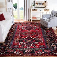Safavieh Vintage Hamadan Traditional Red/ Multi Runner Rug - 2' x 8'