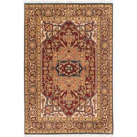 eCarpetGallery Serapi Heritage Red Wool Hand-knotted Rug - 4' x 6'