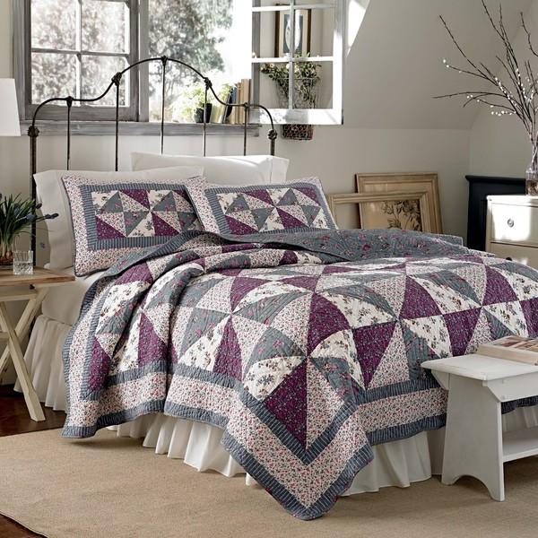 Shop Laura Ashley Selena Cotton Quilt Or Sham - Free-1552