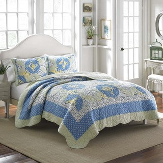 Laura Ashley Belle Cotton Quilt