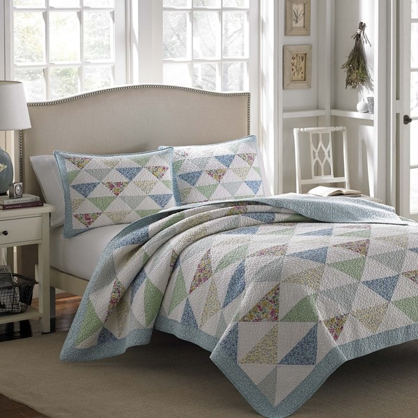 Shop Laura Ashley Theodora Cotton Quilt - Free Shipping On ...