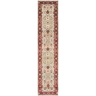 eCarpetGallery Persian Serapi Heritage Multicolored Wool Hand-knotted Runner Rug (2'6 x 19'8)