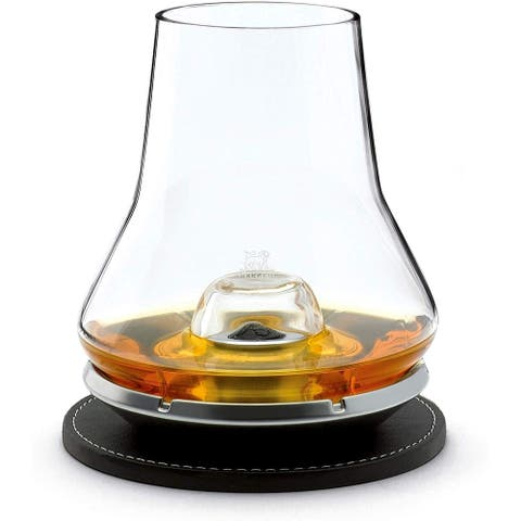 Peugeot Impitoyable Whisky Tasting Set.Cordial Glass and Chilling Base