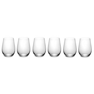 Riedel '260 Years Celebration' Clear O Riesling Zinfandel Glasses (Pack of 6)