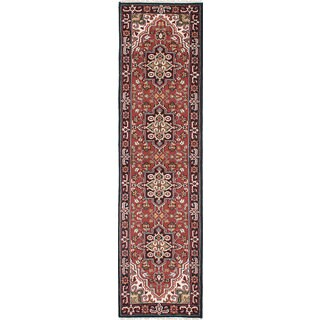 eCarpetGallery Royal Heriz Multicolored Wool Hand-knotted Rug (2'7 x 10'1)