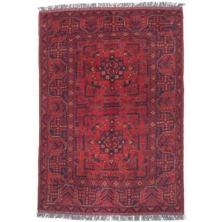eCarpetGallery Hand-knotted Finest Khal Mohammadi Red/Black/Cream/Brown Wool Rug (3'4 x 4'10)|https://ak1.ostkcdn.com/images/products/12932807/P19685294.jpg?impolicy=medium