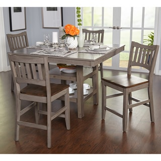 Grey Dining Room Furniture. Simple Living Simon Counter Height 5 Piece Dining  Set Grey