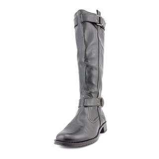 Aerosoles Women's Ride Line Black Polyurethane Boots
