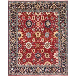 eCarpetGallery Serapi Heritage Blue/Red Wool Hand-knotted Rug (7'10 x 9'10)
