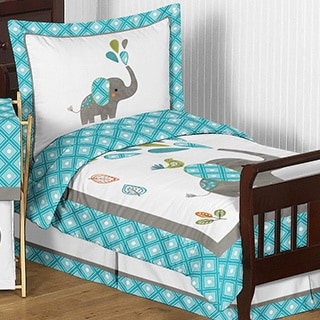 Sweet Jojo Designs Mod Elephant Comforter Set