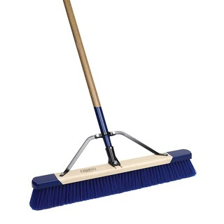 "Harper 557924A 60"" Blue Push Broom"