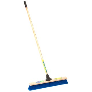 "Laitner Brush Company 1422A 18"" Indoor & Outdoor Heavy Duty Push Broom"