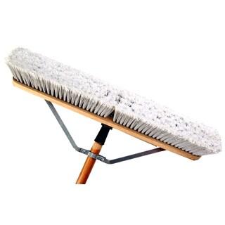 """Laitner Brush Company 1425AJ 24"""" Assembled Smooth Surface Push Broom"""