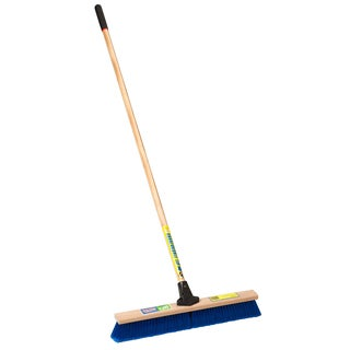 "Laitner Brush Company 1426A 24"" Medium Sweeping Push Broom"