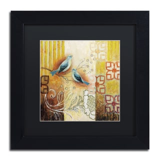 Rachel Paxton 'Arborway Birds' Matted Framed Art