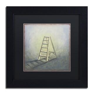 Rachel Paxton 'Ladder' Matted Framed Art