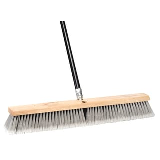 "DQB Industries 09978 24"" Dual Surface Push Broom"