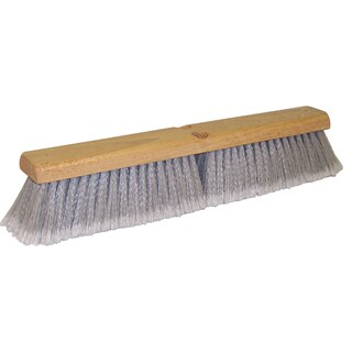 "DQB Industries 10652 18"" Grey Synthetic Floor Broom"