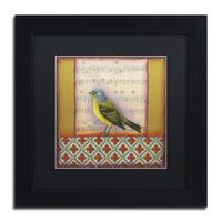 Rachel Paxton 'Small Bird 212' Matted Framed Art
