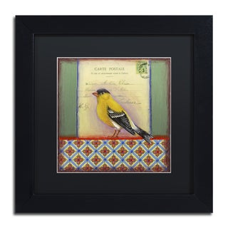 Rachel Paxton 'Small Bird 214' Matted Framed Art