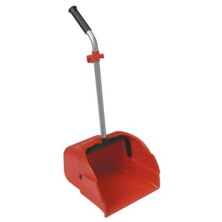 "Laitner Brush Company 497-1 12"" Jumbo Lobby Dustpan With Long Handle"
