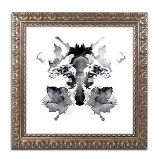 Robert Farkas 'Rorschach' Ornate Framed Art