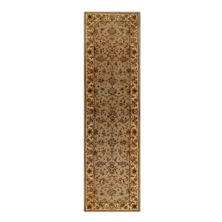 Trastavere Sage Wool and Silk Hand-tufted Rug (2' x 7'6)