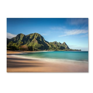 Pierre Leclerc 'Makua Beach Kauai' Canvas Art