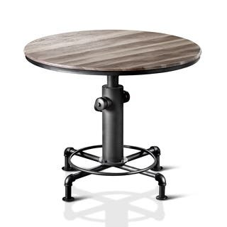 furniture of america protector hydrant inspired metal counter height round table - Round Table Dining