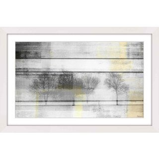 Parvez Taj - 'Peaceful Greys' Framed Printing Print