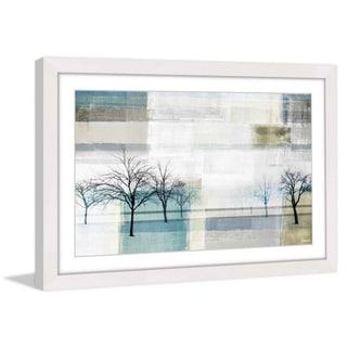 Parvez Taj - 'Indigo Vision' Framed Printing Print