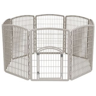 IRIS Plastic 8-panel Pet Play Pen