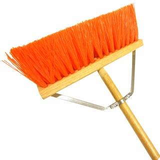 "Laitner Brush Company 454A 16"" Orange Street Broom"