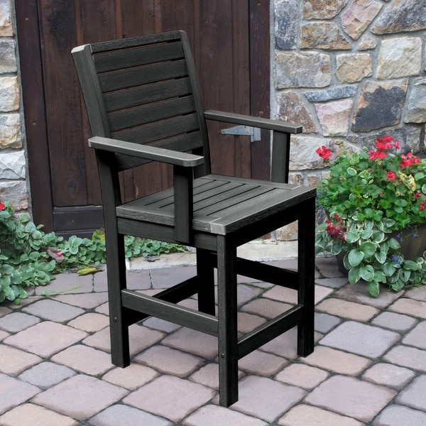 Highwood Eco Friendly Weatherly Counter Height Armchair