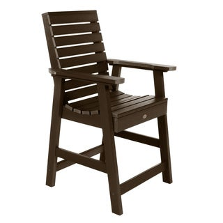 Highwood Eco-friendly Weatherly Counter-Height Armchair (More options available)
