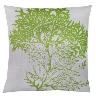 Corvus YDL-PIL-L3745 Multicolor Polyester 18-inch Square Pillows with Tree Motif (Set of 2)