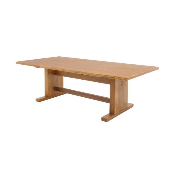 Wondrous Shop Belcino Brown Wood 120 Inch Rectangular Conference Machost Co Dining Chair Design Ideas Machostcouk