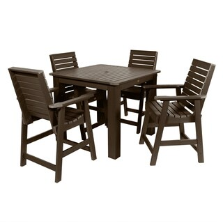 Weatherly 5-piece 42 x 42-in Square Counter-Height Dining Set