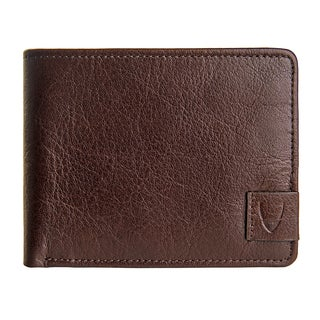 Hidesign Vespucci Men's Brown Leather Slim Bifold Wallet