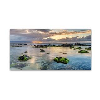Pierre Leclerc 'Ho'okipa Sunrays Maui' Canvas Art
